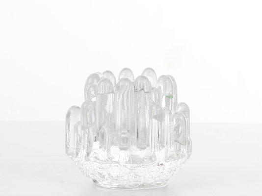 Vintage kerzenständer aus glas von kosta boda bei pamono kaufen