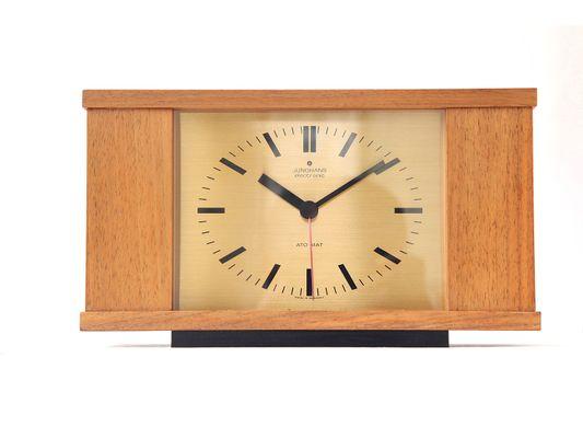 Orologio da tavolo vintage di junghans anni in vendita su pamono