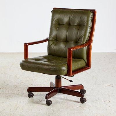 Vintage Swivel Office Chair From Lübke, 1960s 1