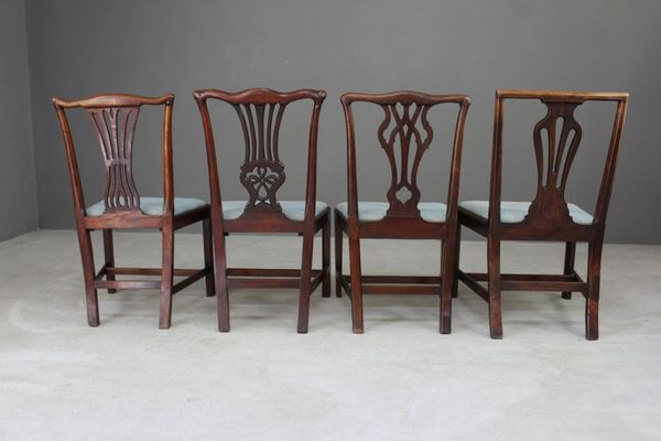 Antique Chippendale Style Dining Chairs, Set of 4 7 - Antique Chippendale Style Dining Chairs, Set Of 4 For Sale At Pamono