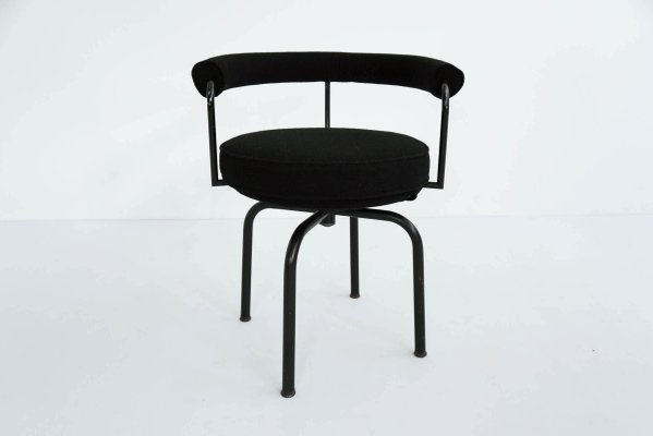 Vintage LC7 Swivel Armchair by Le Corbusier, Perriand and Jeanneret ...