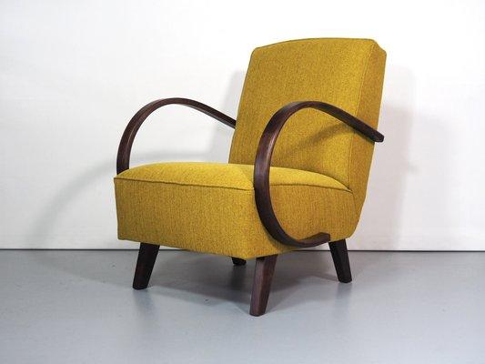 fauteuil art deco par jindrich halabala 1 - Fauteuil Art Deco