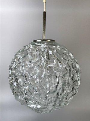 Doria bola vidrio con de 60 de Lámpara Leuchtenaños cromo y FJK1l3Tc