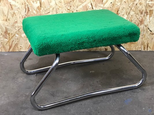 Space Age Chrome Footstool With Stepladder 1960s For Sale At Pamono