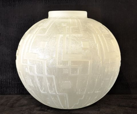Art Deco Vase By Jean Daum 1930s For Sale At Pamono