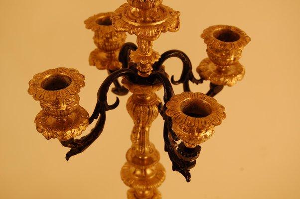 Kronleuchter Antik Bronze ~ Antike kronleuchter aus bronze porzellan er set bei pamono kaufen