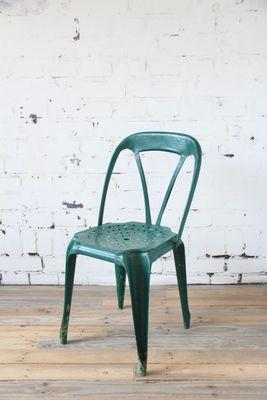 Dunkelgrüner Stuhl Von Joseph Mathieu 1920er Bei Pamono Kaufen
