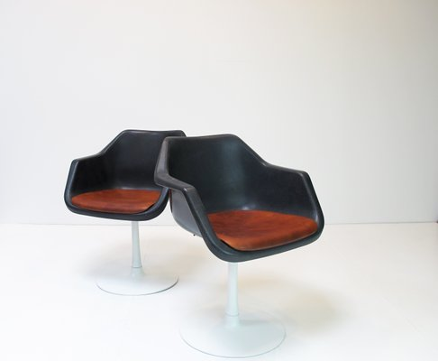 Overman Chairs By Robin U0026 Lucienne Day For Hille, 1970s, Set Of 2