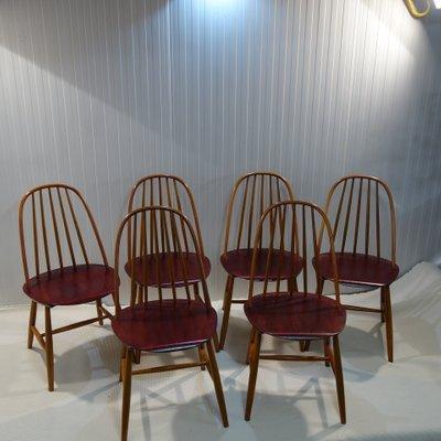 Schwedische Stühle Von Haga Fors, 1950er, 6er Set 1