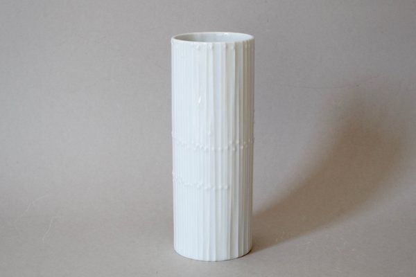 German Porcelain Vase By Tapio Wirkkala For Rosenthal 1960s 1
