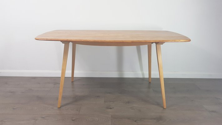 Elm And Beech Dining Table By Lucian Ercolani For Ercol 1960s 1