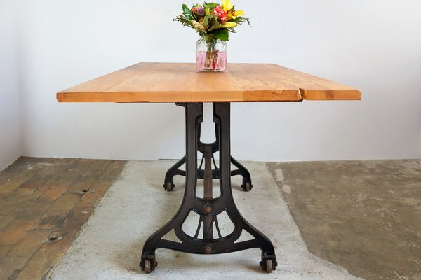Dining Table With Cherry Top