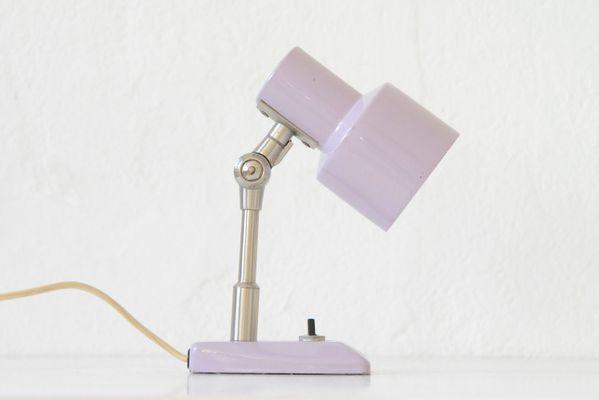 Lampada Scrivania Viola : Lampada da tavolo lilla di stilnovo anni 60 in vendita su pamono