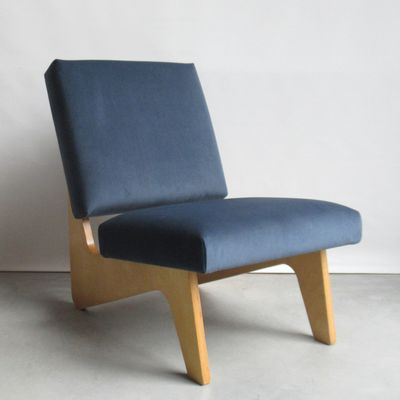 Lounge Stoel Bank.Fb03 Lounge Chair By Cees Braakman For Pastoe 1950s