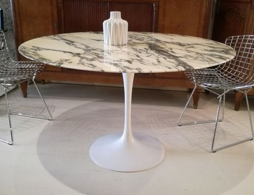 Tavolo Tulip Knoll : Vintage tulip dining table by eero saarineen for knoll s for