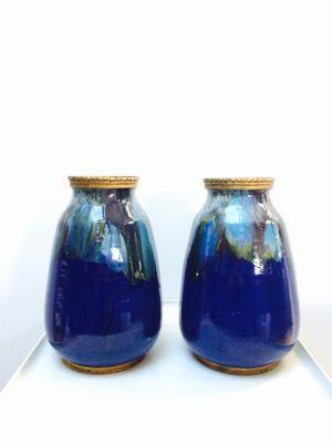 Vintage Ceramic Vases Set Of 2 For Sale At Pamono