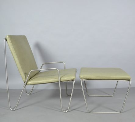 Outstanding Vintage Bachelor Chairs With Ottoman Set Of 2 Short Links Chair Design For Home Short Linksinfo