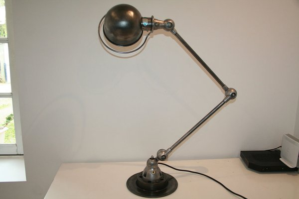 Lampada Vintage Industriale : Lampada vintage industriale di jean louis domecq per jieldé in