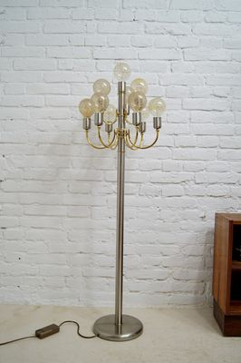 German Floor Lamp From Tz Schmitz 1970s