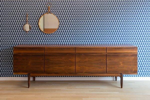new styles a074b 477d6 Model 66 Rosewood Sideboard by Ib Kofod-Larsen for Faarup Møbelfabrik, 1960s