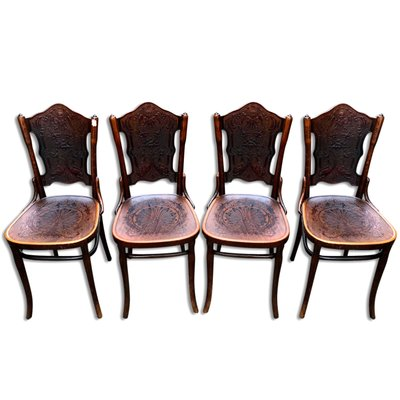 Antique Bentwood Chairs & Armchairs by Jacob & Josef ... - Antique Bentwood Chairs & Armchairs By Jacob & Josef Kohn For Sale