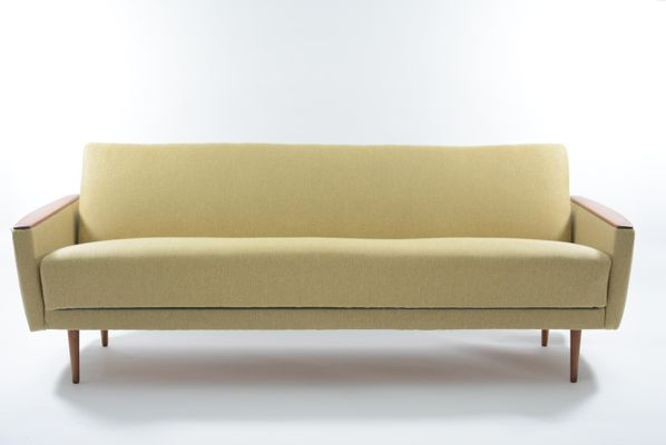 Vintage Yellow Sofa Bed 1970s For Sale At Pamono