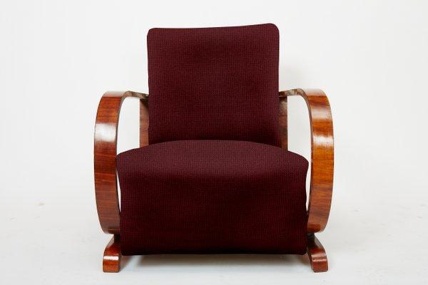 Customizable art deco lounge chair s set of bei pamono kaufen