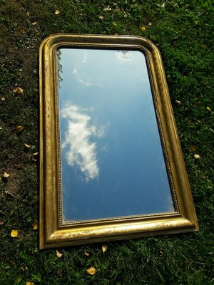 Antique French Louis Philippe Mirror 1