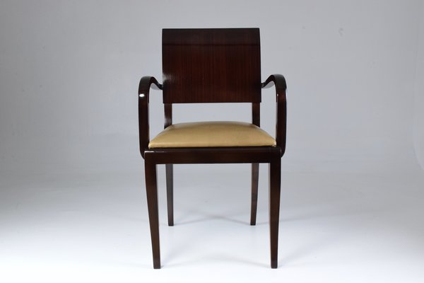 Vintage French Art Deco Chair 1940s 1