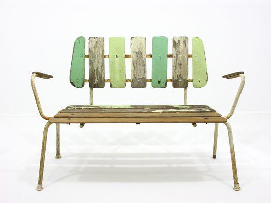 garden bench from bks denmark 1960s 1 - Garden Bench
