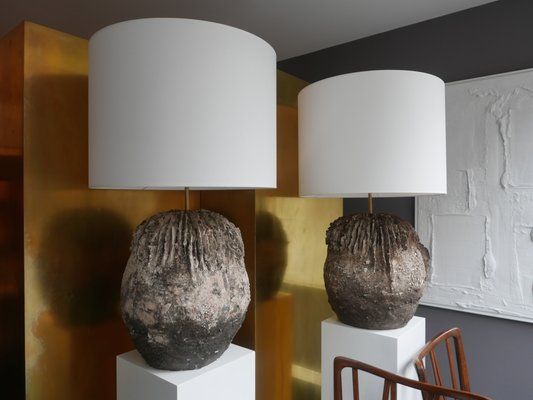 Italian Ceramic Lamp By Flair For