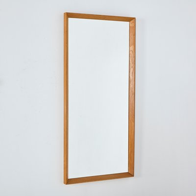 Oak Framed Mirror, 1960s for sale at Pamono