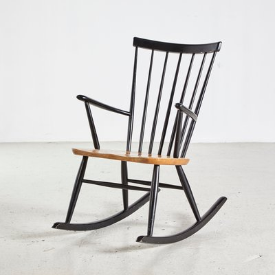 Marvelous Scandinavian Rocking Chair By Roland Rainer For Hagafors 1960S Caraccident5 Cool Chair Designs And Ideas Caraccident5Info