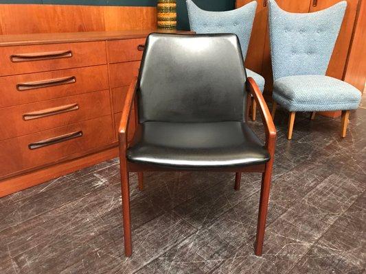 Chaise De Bureau Vintage Danemark 1