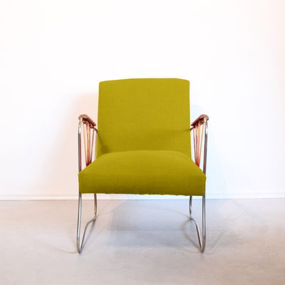 Peachy Customizable Lounge Chair With A Metal Frame 1960S For Sale Inzonedesignstudio Interior Chair Design Inzonedesignstudiocom