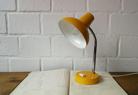 Lampe de bureau jaune s en vente sur pamono