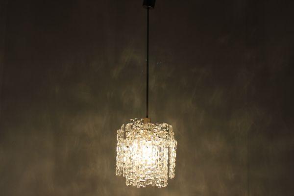Lampade In Vetro Anni 70 : Lampada a sospensione in vetro anni in vendita su pamono