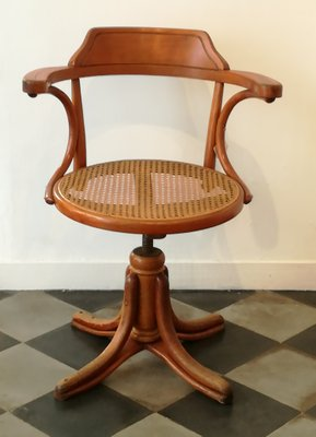 Vintage office chairs for sale Swivel Vintage Office Chair By Michael Thonet 13 Pamono Vintage Office Chair By Michael Thonet For Sale At Pamono