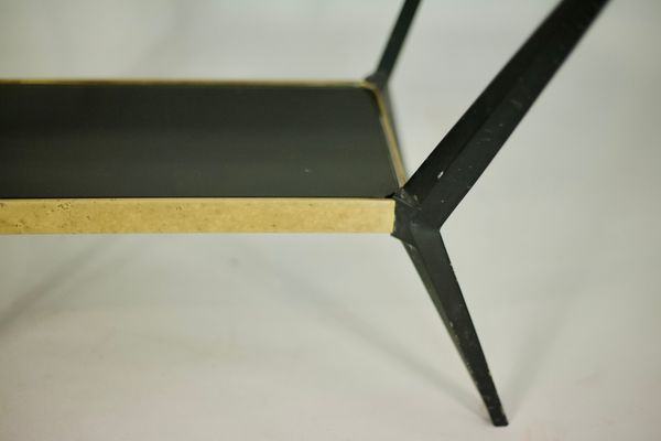 Tavolino con vetro laccato nero ebay