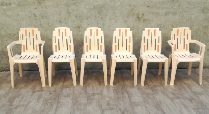 Incredible Samba Outdoor Garden Chairs By Pierre Paulin For Stamp 1960S Set Of 6 Creativecarmelina Interior Chair Design Creativecarmelinacom
