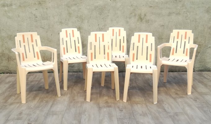 Awesome Samba Outdoor Garden Chairs By Pierre Paulin For Stamp 1960S Set Of 6 Creativecarmelina Interior Chair Design Creativecarmelinacom