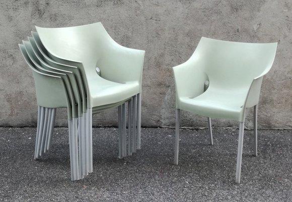 Kartell Sedie Da Esterno.Sedie Da Giardino Drno Di Philippe Starck Per Kartell Anni 90 Set Di 6