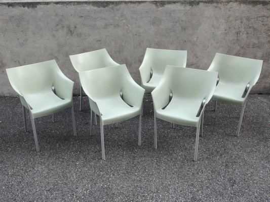 Sensational Drno Outdoor Garden Chairs By Philippe Starck For Kartell 1990S Set Of 6 Inzonedesignstudio Interior Chair Design Inzonedesignstudiocom