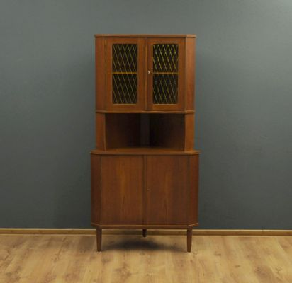 vintage danish teak corner cabinet for sale at pamono