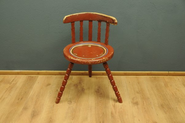 Antique Wooden Chairs >> Antique Swedish Wooden Chair For Sale At Pamono