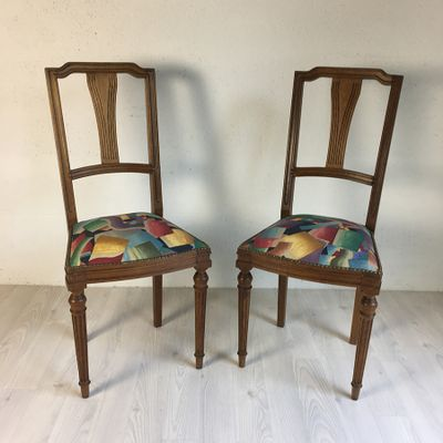 Antique French Chairs, Set of 2 1 - Antique French Chairs, Set Of 2 For Sale At Pamono