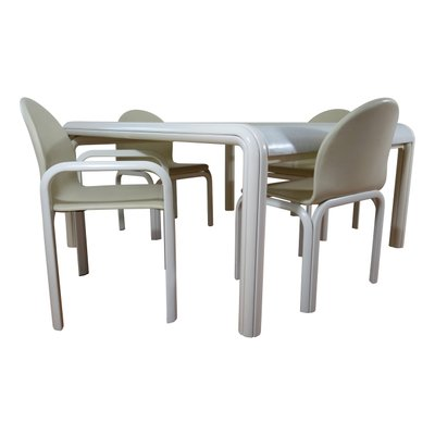 Exceptionnel Italian Orsay Dining Set By Gae Aulenti For Knoll International, 1960s,  Table And 4