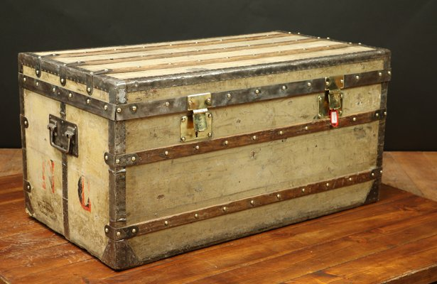 Grey Trianon Trunk from Louis Vuitton, 1860s for sale at Pamono a49b9dc1d71