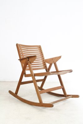 Pleasant Rex Rocking Chair By Niko Kralj 1960S Andrewgaddart Wooden Chair Designs For Living Room Andrewgaddartcom