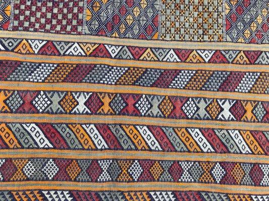 Tappeti Kilim Marocco : Tappeto kilim vintage berbero intrecciato a mano marocco in vendita